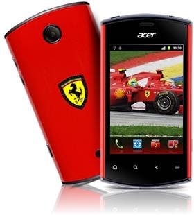 Acer liquidmini Ferrari Edition