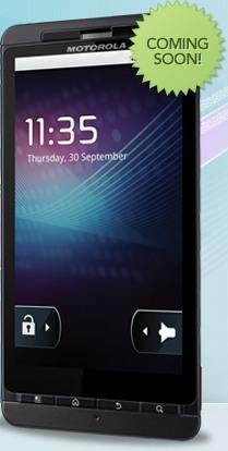 Motorola Milestone X