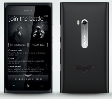 Nokia Lumia 900 4GBatman The Dark Knight Rises Limited Edition