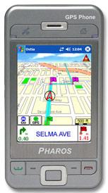 Pharos Traveler 600 / 600e GPS Phone