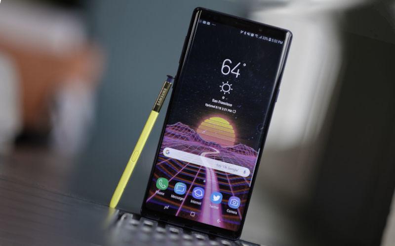 телефон Samsung Galaxy Note 9