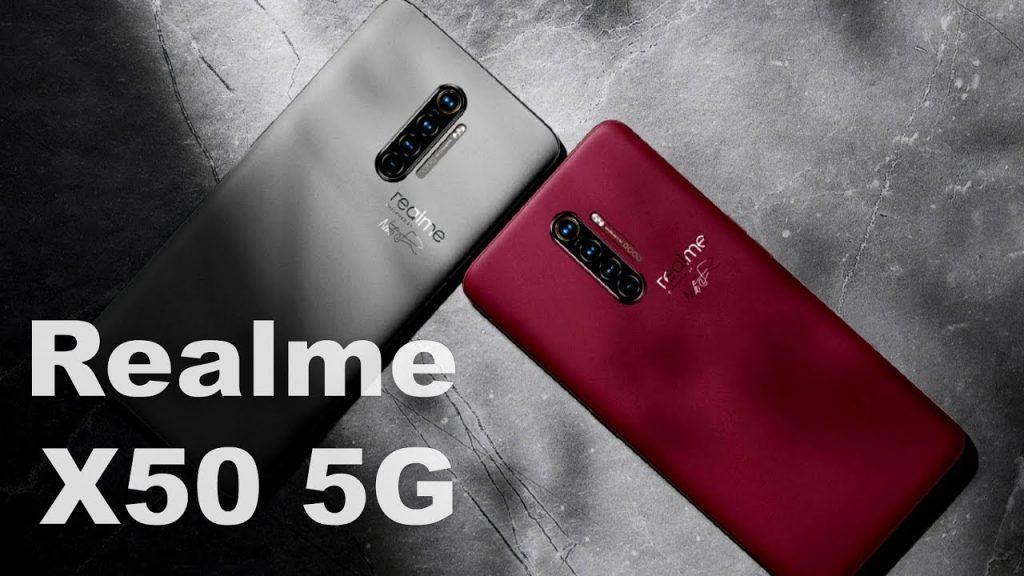 Раскрыта дата выхода и подробные характеристики  Realme X50 5G