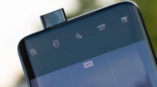 выдвижная селфи-камера OnePlus 7 Pro