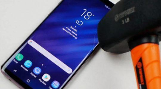 защита экрана смартфона