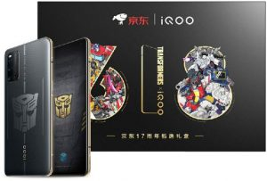 Vivo iQOO 3 5G Transformers Limited Edition 256GB