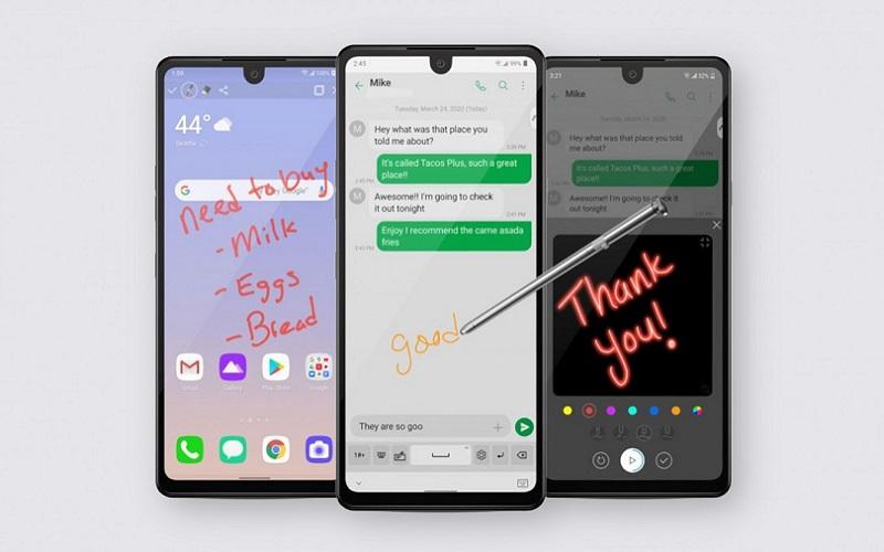 LG оценила смартфон Stylo 6 с перьевым управлением в 220 долларов