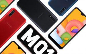 Раскрыта российская цена смартфона Samsung Galaxy M01 с емкой батареей