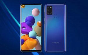 Samsung привезла в Россию Galaxy A21s с емкой батареей