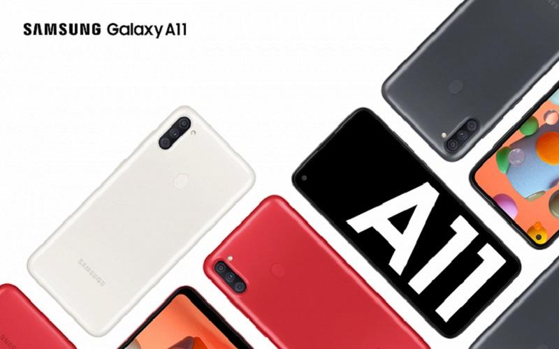 Samsung привезла в Россию недорогой смартфон Galaxy A11 с NFC и дисплеем Infinity-O