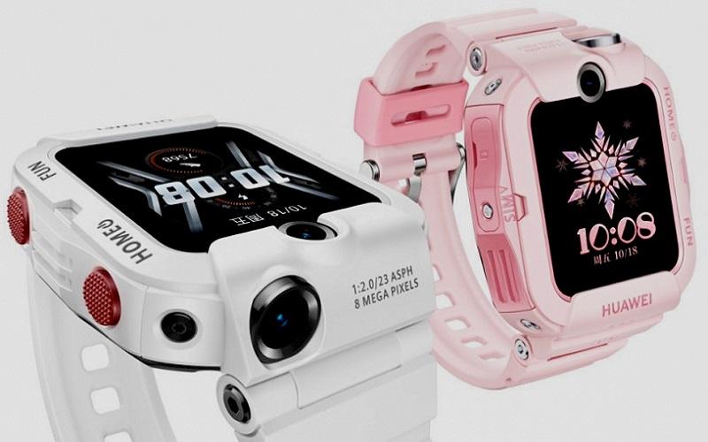 Huawei выпустила детские смарт-часы Children Watch 4X с двумя камерами и поддержкой 4G