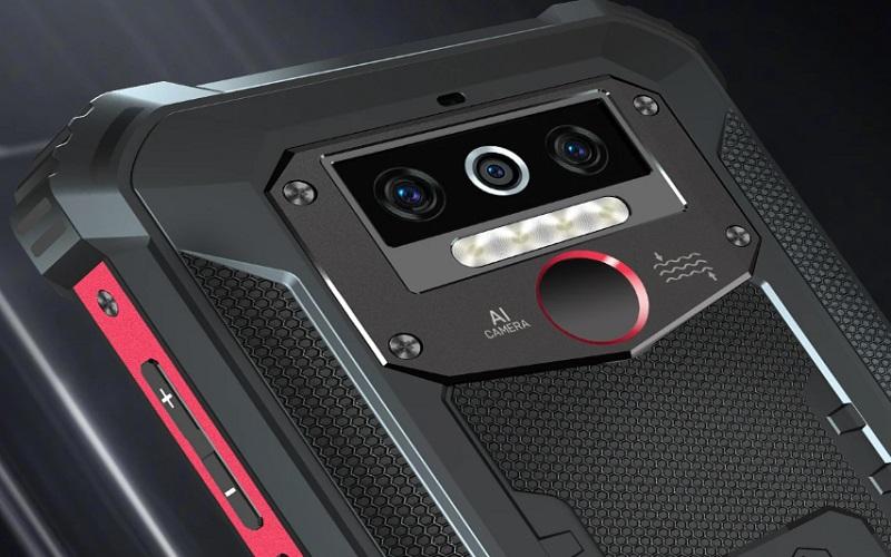 Oukitel начала продажи защищенного смартфона WP5 Pro с аккумулятором на 8000 мАч