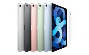 Apple показала iPad Air 4 с топовым дизайном и прокачанный iPad восьмого поколения