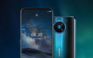 Nokia 8.3 5G с камерой на 64 Мп и Snapdragon 765G поступил в российскую розницу