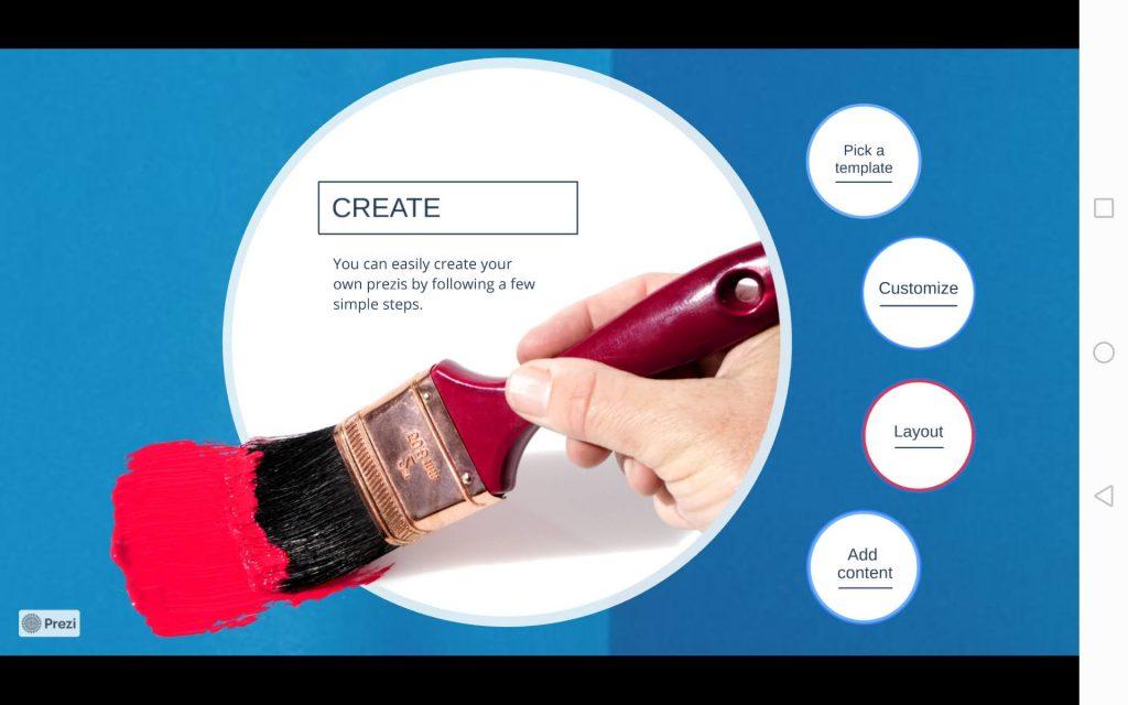 Prezi Viewer - программа для презентаций на Андроид