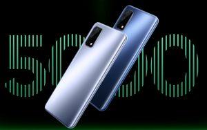 Realme выпустила доступный игровой смартфон Narzo 30 Pro с 5G и емкой батареей