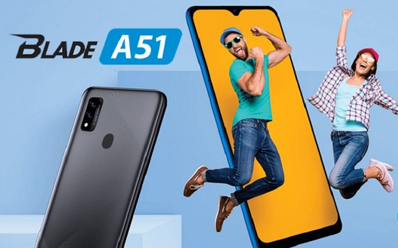 ZTE привезла в Россию недорогой смартфон Blade A51 с NFC и Android 11