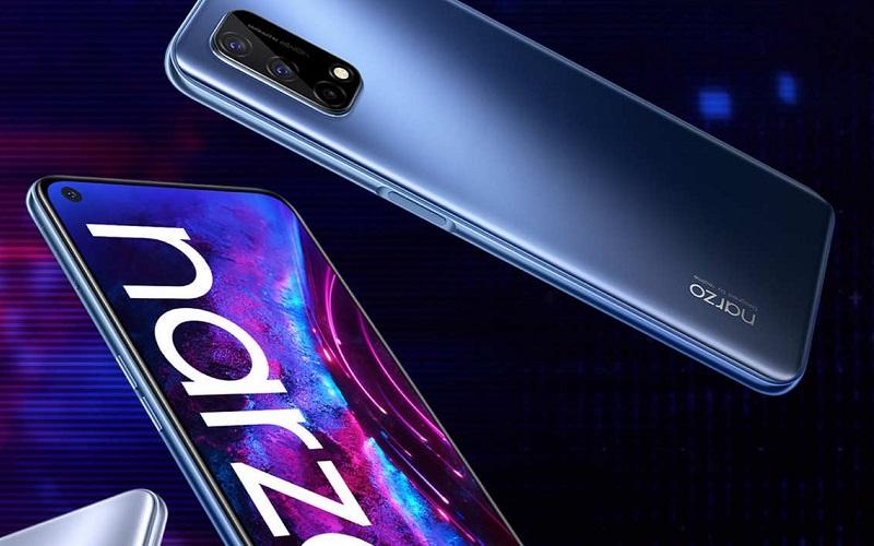 Realme оценила смартфон Narzo 30 с экраном 90 Гц для российских покупателей в 12 990 рублей