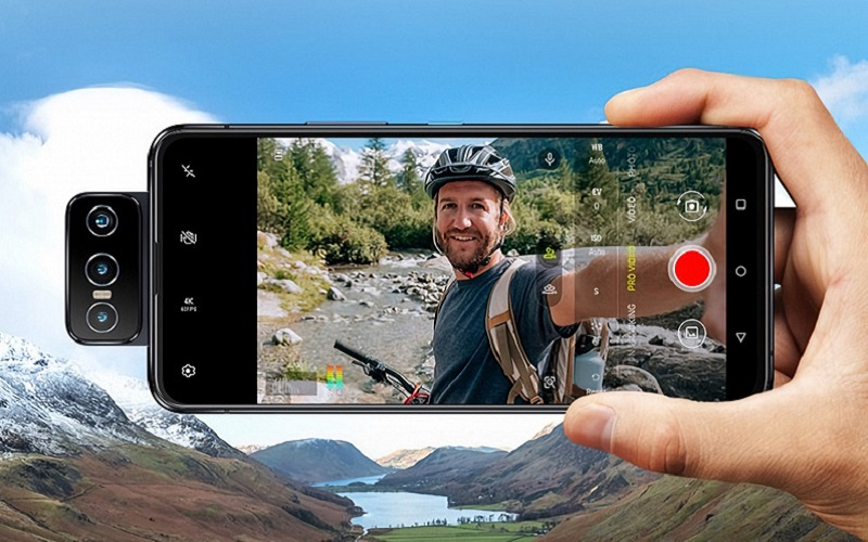 ASUS привезла в Россию флагманские смартфоны ZenFone 8 Flip и ZenFone 8