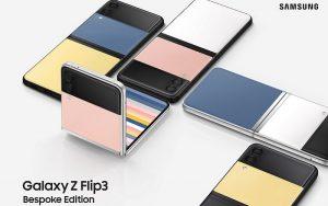 Samsung выпустила смартфон Galaxy Z Flip3 Bespoke Edition с настраиваемым дизайном